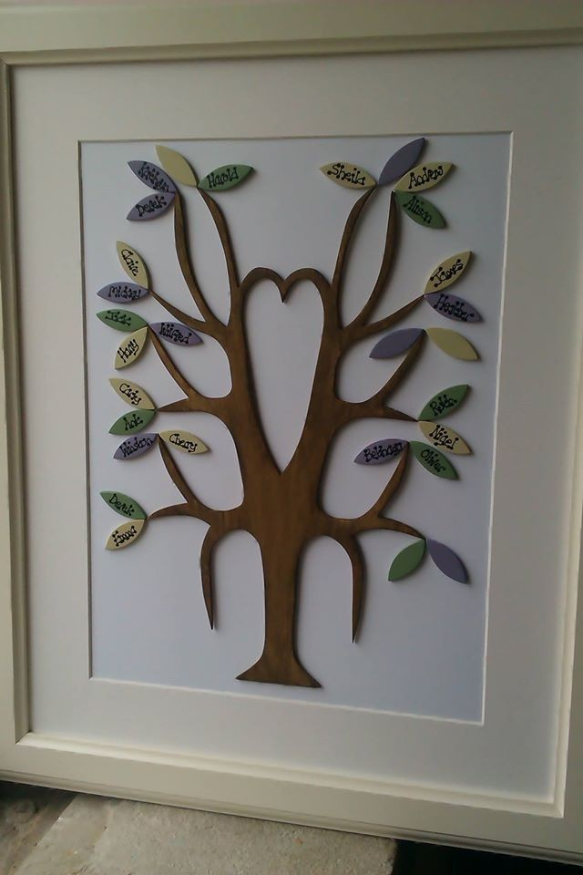 Large Family Tree | Authentic Uppermill