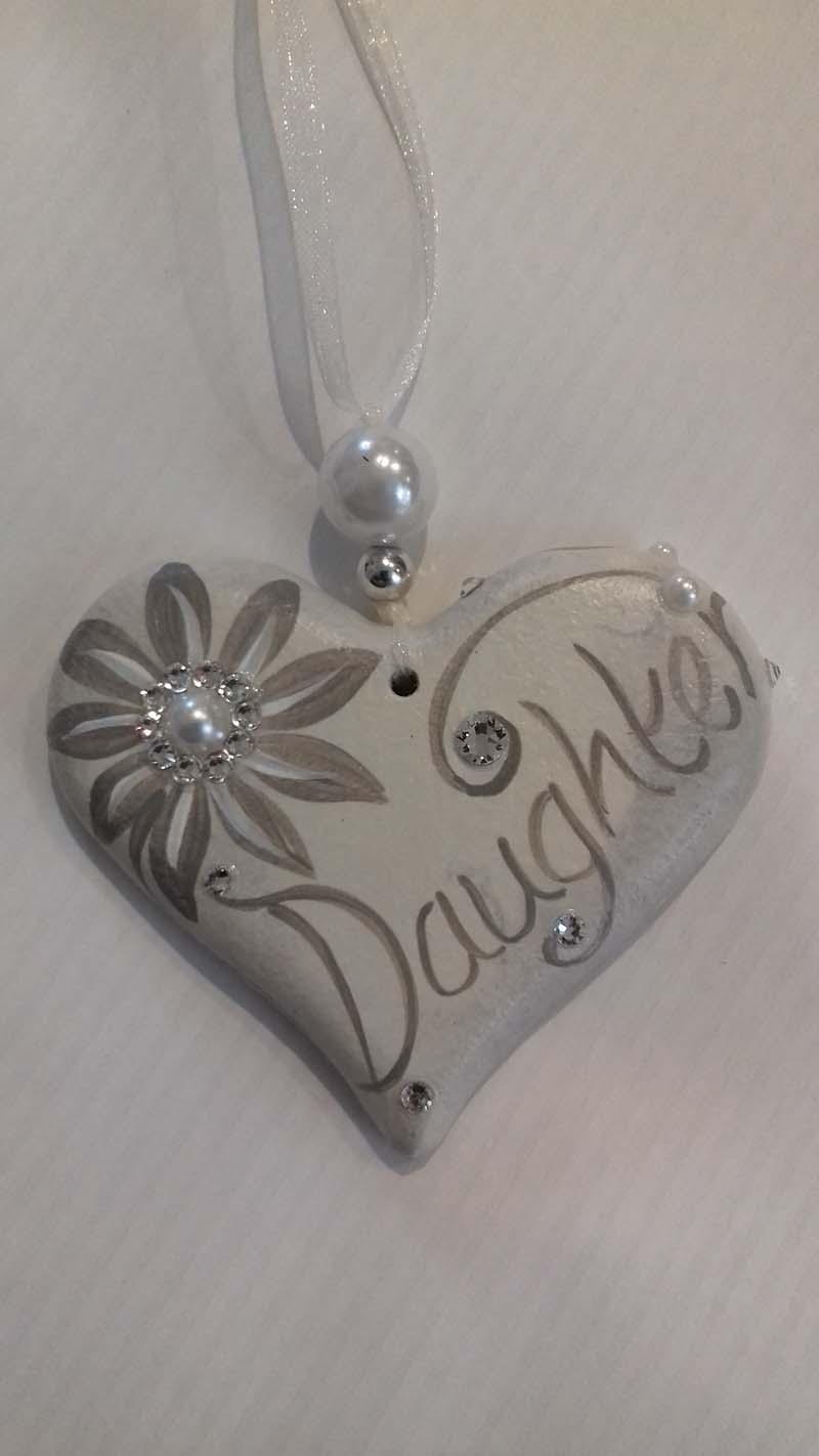 Daughter Hanging Heart