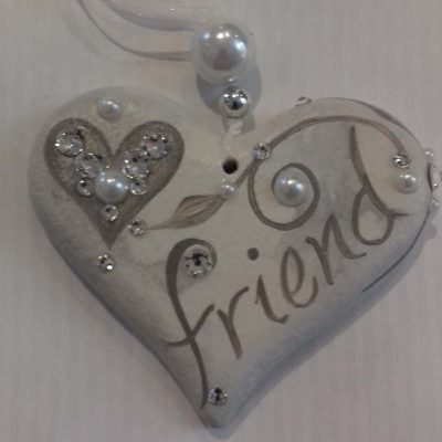 Friend Hanging Heart Gift