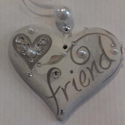 Friend Hanging Heart Gift