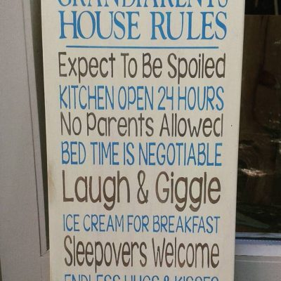 Woozlewood Grandparents House Sign