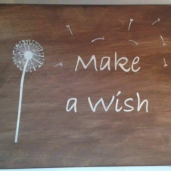 Woozlewood Make a Wish Sign